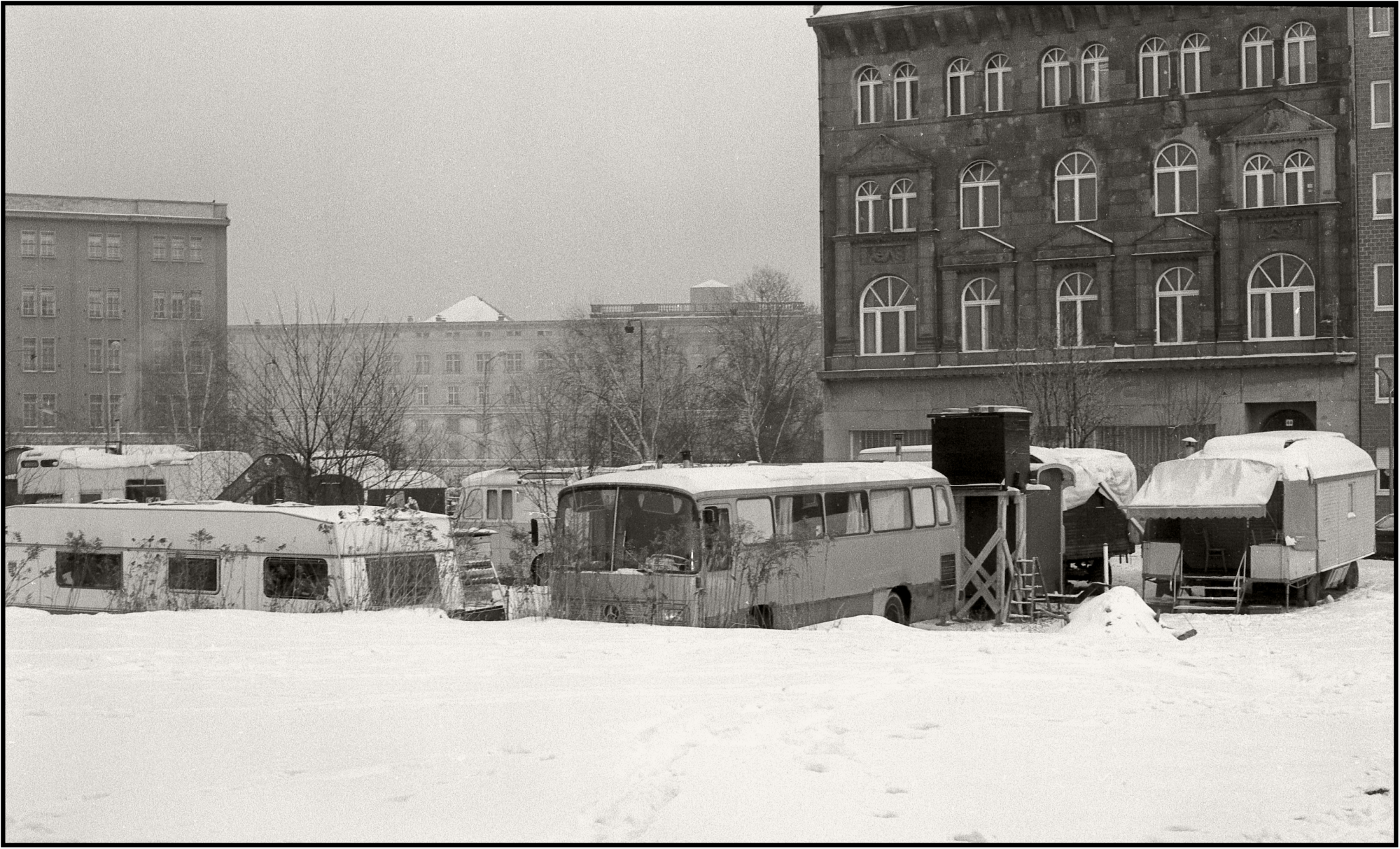 Rollheimer - Winter in Berlin   20.1.1987