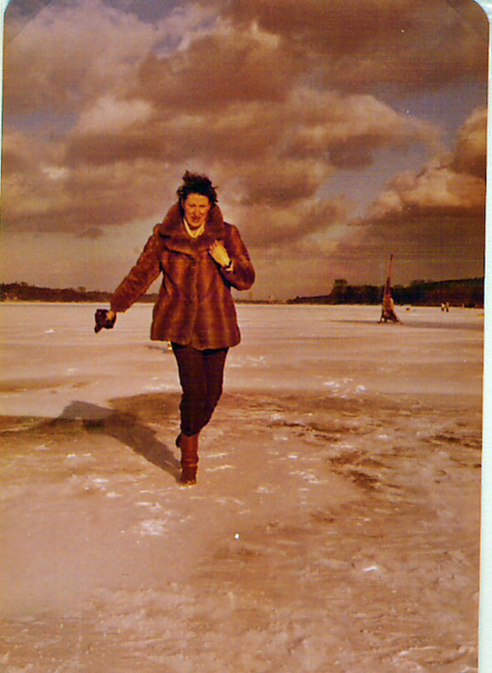 Winter 1980 auf der Havel
